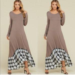 Casual Stone Maxi Dress *October Love* NWT